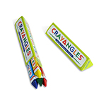 4pack Triangular Crayons, Box Packed - Item 1T4B(360) Bulk Triangle Best-Cheap Wholesale & Restaurant Crayon Packs