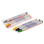 3pack Round Crayons, Cello Packed - Item 2R3C(500) Bulk Round Best-Cheap Wholesale & Restaurant Crayon Packs
