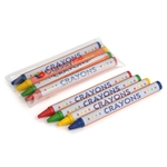 4pack Round Crayons, Cello Packed - Item 2R4C(360) Bulk Round Best-Cheap Wholesale & Restaurant Crayon Packs