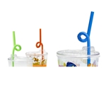 Colorful straws, Bendy, Individually Wrapped - Item 580 Wholesale Restaurant Plastic Child-Kid Cup