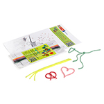 8pk Wax Play String, Sea Theme - Item TT85-SEA1 Bulk Kids' Toys, Compare: Wikki-Stix and Bendaroos