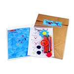 Take-Home Bag Deco Kit - Item TZ-BAG1 Old-School Interactive, Best-Cheap Wholesale & Restaurant Family Night Toys in Bulk