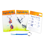 Keychain Buddies - Item TZ-KB1 Old-School Interactive, Best-Cheap Wholesale & Restaurant Family Night Toys in Bulk