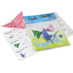 Origami Variety Pack 1 - Item TZ-OR1 Old-School Interactive, Best-Cheap Wholesale & Restaurant Family Night Toys in Bulk